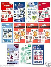 Football Tattoo Pack Selection OFFICIAL Birthday Christmas Gift Kid's Present