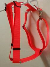 Carter Pet Supply Fully Adjustable Dog Harness Metal Double Bar Buckle USA Made