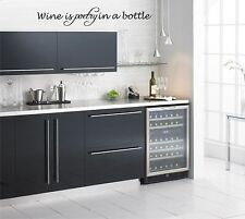 Wine is Poetry in a Bottle Vinyl Wall Decal