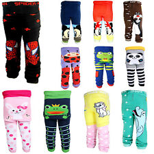 Baby boys girls toddler leggings tights Warmer socks Knitting PP pants M-S