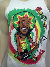 """BOM MARLEY TANK TOP T-SHIRT NEW SIZE MED LG XL 2X  FREE SHIPPING 7O""""S STYLE"""