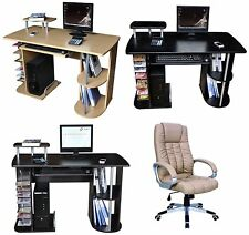 NEW COMPUTER DESK w/Keyboard Shelf+OFFICE CHAIR,SEAT Home/Business Furniture #42