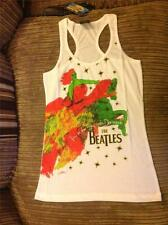 Beatles - Lucy In The Sky  - New Ladies Vest Top - Official Licensed Merchandise