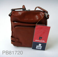 Genuine PIERRE CARDIN leather messenger bag AVAILABLE IN 3 COLOURS 81720