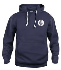 Retro Bolton Wanderers Navy Football Hoodie New Sizes S-XXXL Embroidered Logo