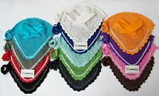EAR NET CROCHET FLY VEIL EQUESTRIAN HORSE WITH CRYSTALS 11 COLORS FULL COB PONY