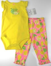 Carter's NWT Infant Girls 9M 12M 24M 2Pc Bodysuit Bottoms *GRANDMA IS THE BEST*