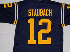 ROGER STAUBACH NAVY JERSEY BLUE SEWN NEW - ANY SIZE XS - 5XL