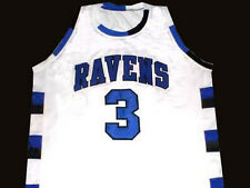 LUCAS SCOTT #3 ONE TREE HILL RAVENS JERSEY NEW WHITE - ANY SIZE XS - 5XL