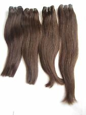 Indian Virgin Remy Human Hair Extensions/Weave Imported Color 4 Straight Softest