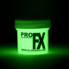 GREEN GLOW in the DARK Daytime Visible & UV Reactive Paint 1oz-2oz