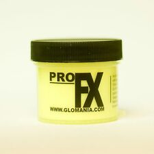 YELLOW GLOW in the DARK Daytime Visible & UV Re-active Paint 1oz