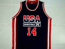 CHARLES BARKLEY TEAM USA JERSEY NEW BLUE ANY SIZE XS - 5XL