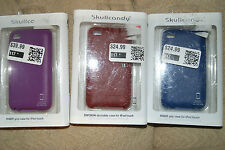 SKULLCANDY iPOD TOUCH 4TH GEN CASE COVER COLOR VARIES
