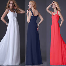 Sexy Strap Bridal Wedding Evening Party Formal Prom Gown Cocktail Long Dresses