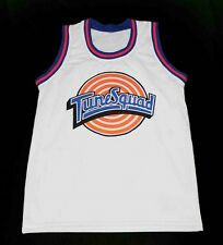 PORKY PIG TUNE SQUAD SPACE JAM MOVIE JERSEY WHITE NEW ANY SIZE XS - 5XL