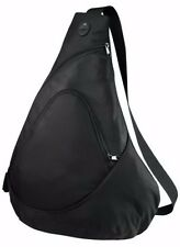 Port & Company Improved Honeycomb Sling Pack Diagonal Strap Backpack New