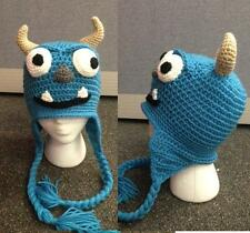 Hand Crochet Monster Inc SULLEY Beanie / Hat Made to Order NEW!