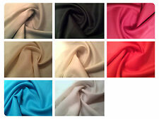 "Natural Pure 100% Linen Fabric Material - 8 Colours - 54"" (137cm) Wide"