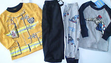 NWT GYMBOREE SNOWBOARDER FIRE CHIEF PJS PAJAMAS GYMMIES 2 PIECE 12-18 MS YOU PIC