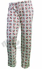 OFFICIALLY LICENSED I LOVE NY HEART NEW YORK WHITE LOUNGE PAJAMA PANTS UNISEX