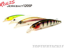 DUO Realis Jerkbait 120SP Suspending Lure - Select Color(s)