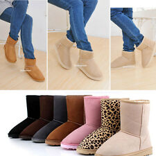 New Hot Fashion Women/Girls Winter Warm Mid-calf Snow Cold Weather Boots Shoes
