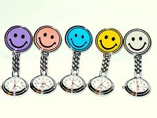 Nurses Watch Smiley Face Stainless Steel Fun Fob Watches Nurse