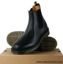 Dr Martens CLASSIC Chelsea Black Leather Industrial Boots Shoes Footware New