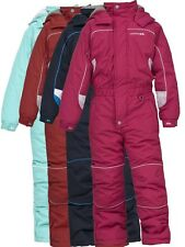 TRESPASS LAGUNA BOY GIRL 1 PIECE KIDS ALL IN ONE PADDED SKI SNOW SUIT BIG FITTIN