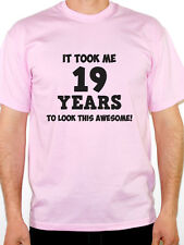 IT TOOK ME 19 YEARS - Nineteen / 19th Birthday Gift / Fun Themed Mens T-Shirt