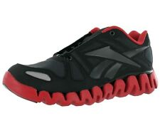 REEBOK Zig Dynamic  Running Shoes Black/Red J82794 Big Boys Sizes 6 thru 7