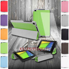 Magnetic Folio Protect Case Cover Stand+Screen Protector Asus Google Nexus 7 2