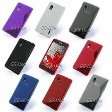 For LG Optimus G, F180 / LS970 Gel TPU Case Skin Cover
