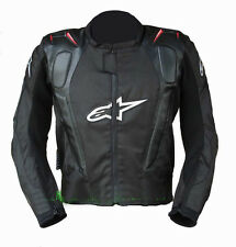 Mens Jacket PU+Oxford Motorcycle Bikers Racing Off-Road Body Armor Gear Apparel