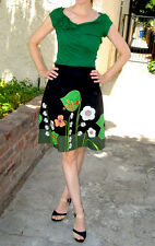 NEW Sz 4 or 6 Anthropologie Archival Collection: Vine Skirt By Odille 5 Stars!