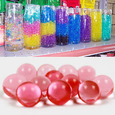 10 Bags Pearl shaped Crystal Soil Water Beads Mud Grow balls Wedding 1bag x 5g