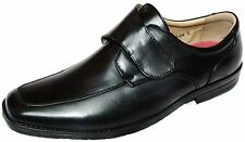 BRAND NEW IN THE BOX MENS VELCRO SHOES IN BLACK GREAT STYLE MODEL No 10 6766 04