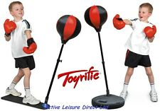 TOYRIFIC - FREESTANDING / STAND ON PUNCH BALL / BAG - WITH BOXING GLOVES