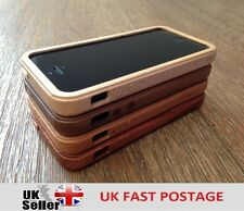LUXURY HARD WOODEN PROTECTOR CASE REAL SOLID WOOD COVER APPLE IPHONE 5 / 5S