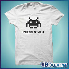 T-SHIRT SPACE INVADERS VINTAGE GAME START THE HAPPINESS IS HAVE MY T-SHIRT NEW