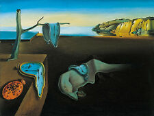 Persistance Of Memory - Dali - CANVAS OR PRINT WALL ART