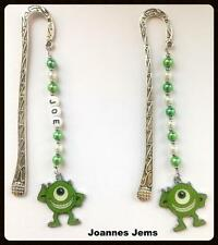MIKE- MONSTERS INC BOOK MARK - PERSONALISED or PLAIN - SAME DAY POSTAGE