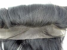 """18"""" Premium Quality Indian Remy Human Hair 13""""x4"""" Lace Frontal  #1/#1b/#2/#4"""