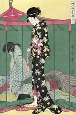 2795.Geishas.Japanese art POSTER.Asian Decoration for Kitchen Room Office Home