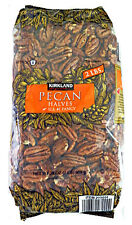 NEW 2 LBS (32oz.) Kirkland RAW SHELLED PECAN HALVES Nuts Baking-FREE SHIPPING
