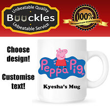 Peppa Pig Mug Kid Gift Idea Cool Cheap Christmas Birthday Fashion Fun Personal