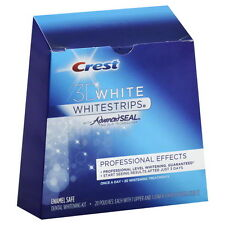 CREST 3D PROFESSIONAL EFFECTS TEETH WHITENING WHITE STRIPS  - Expiry June 2015
