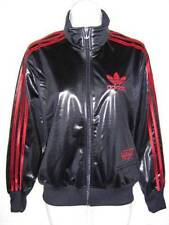 Adidas Originals Chile 62 Womens Tracksuit Top / Jacket  Sz 10 to 18  Black