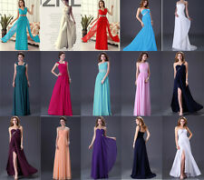 Many Styles New Long Bridesmaid Prom Ball Evening Dress Formal Party Bridal Gown